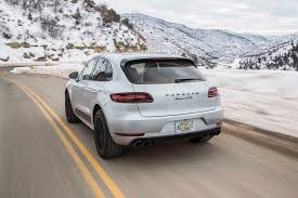 porsche macan grey 2017 porsche macan gts first test review motor trend