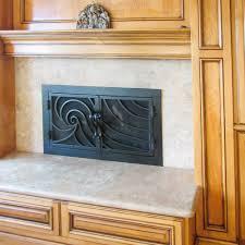 modern fireplace doors binhminh decoration