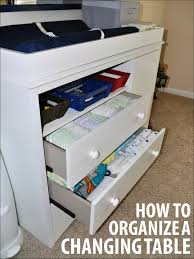 how much is a changing table how to organize a changing table mommy my way