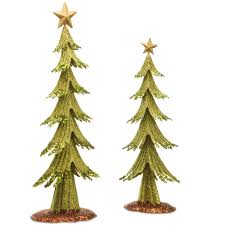 national tree company 24 in and 19 in h assortment metal green