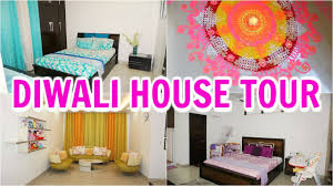 Decorations For Diwali At Home Diwali Decorations Home Tour Shrutiarjunanand Youtube