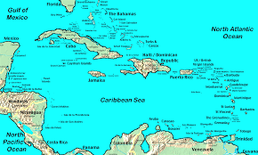 Map Of The Caribbean United States And Caribbean Map Thefreebiedepot Us Virgin Islands