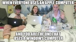 Windows Vs Mac Meme - windows 10 imgflip