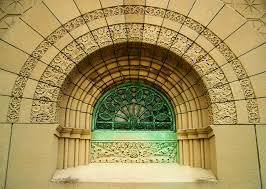 Louis Sullivan by File Getty Tomb Graceland Sullivan Side Window Jpg Wikimedia Commons