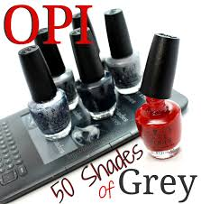 opi 50 shades of grey nail polish collection nails pinterest