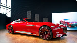 maybach mercedes coupe incredibly luxurious electric coupe vision mercedes maybach 6 310