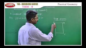 samacheer 8th maths term 02 unit 02 practical geometry youtube