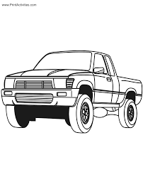 unique pickup truck coloring pages 29 gallery coloring ideas