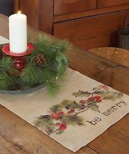 christmas table runners ebay