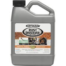 rust oleum rust dissolver 1 quart walmart com