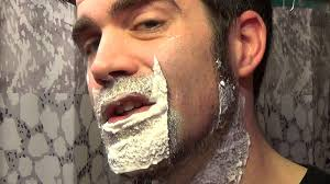 how dense should male pubic hair be shaving thick beard with new safety razor youtube