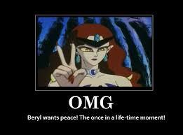 Peace Memes - beryl wants peace sailor moon know your meme