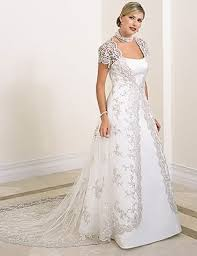 fascinating plus size wedding dresses with sleeves or jackets 80