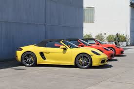 porsche boxster 2016 hardtop preview porsche 718 boxster is proof that it can do more with