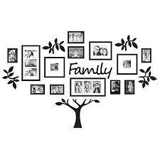 wallverbs 19 family tree set in black bed bath beyond