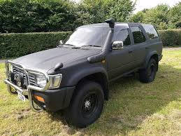 toyota surf car 1993 toyota hilux surf auto 2 4 4x4 zombie survival truck in