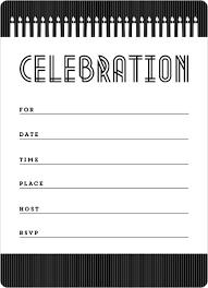 blank birthday invitations gangcraft net