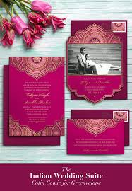 indian wedding invitations chicago digital elegance greenvelope colin cowie wedding collection
