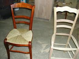 refaire l assise d une chaise assise de chaise en paille chaise hatre massif avec assise paille