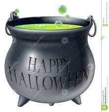 Happy Halloween Witch Cauldron Royalty Free Stock Photos Image