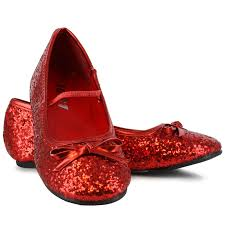 buy sparkle ballerina shoes red child