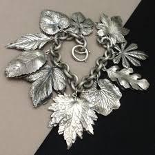 leaf charm bracelet images 286 best napier images vintage costume jewelry jpg