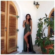 Sorority Formal Dress Best 25 Olive Green Dresses Ideas On Pinterest Green Dress