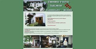 chambre d hote en espagnol chambres d hôtes au pays basque espagnol