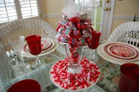 Make Decorations For Valentine S Day by Valentine Table Decorations Make Thesouvlakihouse Com