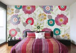 Designs For Bedroom Walls Bedroom Wall Murals In 25 Aesthetic Bedroom Designs Rilane
