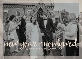 newlywed cards new year s cards new year newlywed at minted