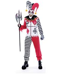 twisted joker jester costume men costumes