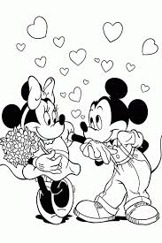valentine coloring pages disney coloring home