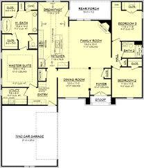 side split floor plans house plan floor plan with sq ft bedrooms bathrooms river