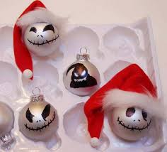 skellington ornaments by sleepyinseattle cards and paper