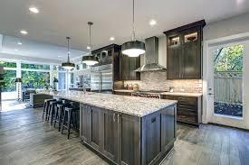 grey kitchen cabinets wood floor gray hardwood floors in kitchen elrincondemama co