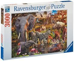 ravensburger animals 3000 puzzle toys