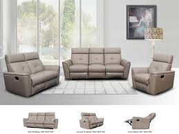 furnitures gray reclining sofa elegant reclining grey leather