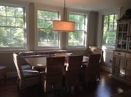 Transitional Chandeliers For Dining Room by Project Featuring Lighting With Recycled Glass Patti Bros Web Site
