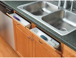 cabinet kitchen sink rev a shelf 11 inch tip out front sink tray set