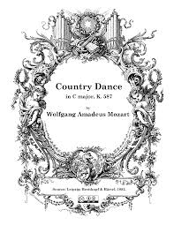 country dance in c major k 587 mozart wolfgang amadeus imslp