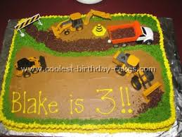 construction cake ideas coolest construction birthday cakes