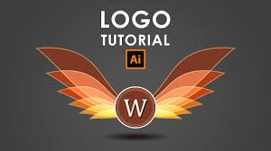 tutorial for illustrator how i create a wings logo illustrator tutorial adobe illustrator
