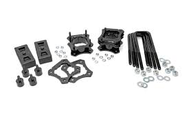 toyota tundra leveling kit 2 5 3in leveling lift kit for 07 18 toyota 2wd tundra