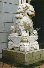 marble lion china sculpture marble lion for garden animal statue sy