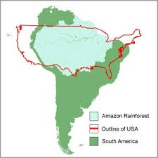 south america map rainforest why should we save save the