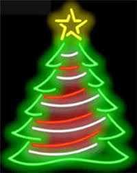 neon christmas collection on ebay
