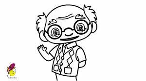 grandpa nihao kai lan how to draw nihao kai lan grandpa youtube