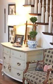 dresser as entry hall table or tv stand take out top drawers and