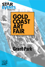 Grant Park Map Chicago by Gold Coast Art Fair Starevents